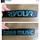 "Thumbnail: ""Bass Music"" Armbånd"