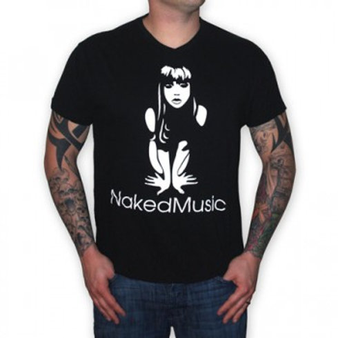 """Naked Music"" T-Skjorte"