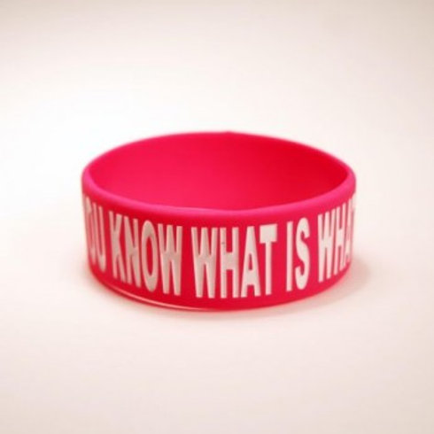 """You Know What Is What"" Armbånd 1"""