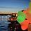 Thumbnail: Ballong Med LED Lys (Hjerteformet 40cm)