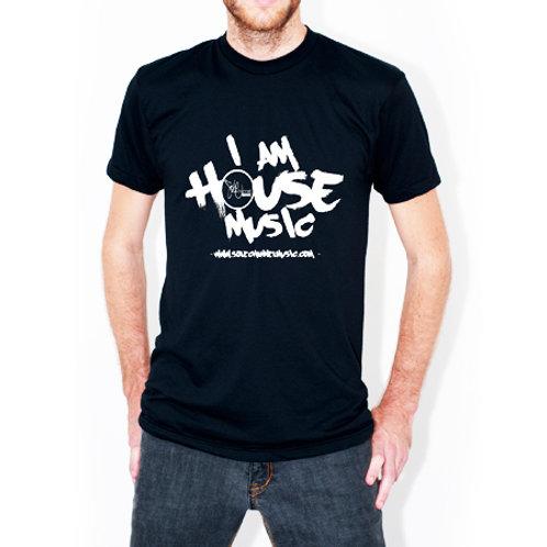 """""""I Am House Music"""" T-Skjorte"""