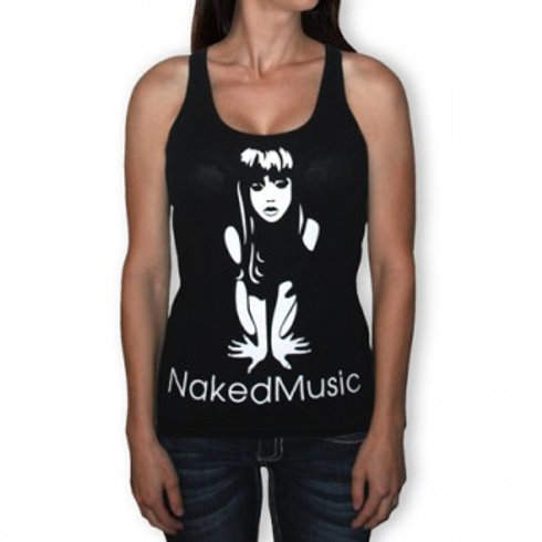 """Naked Music"" Tank Top"