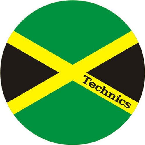 Technics Jamaica Slipmats (Magma)