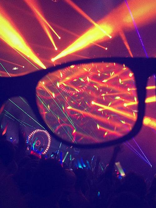 3-D Prism Glasses