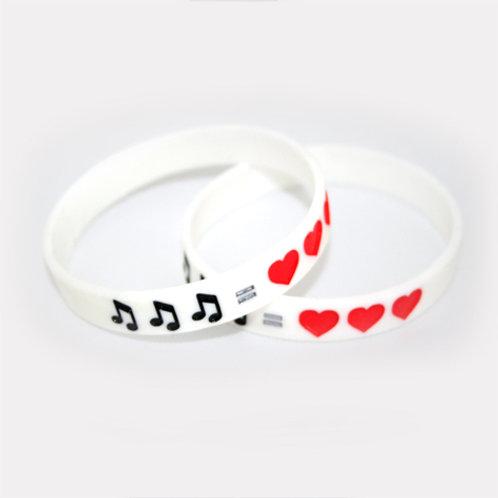 """Music = Love"" Armbånd"