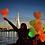 Thumbnail: Ballong Med LED Lys (Hjerteformet 30cm)