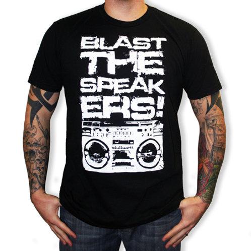 """Blast The Speakers"" T-Skjorte"