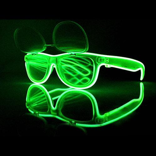 El Wire Flip Up Glasses