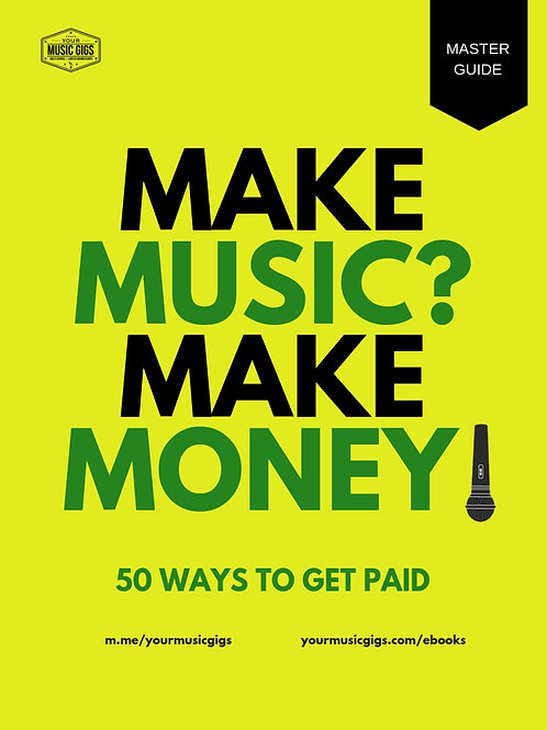 50 Ways to Get Paid (eBook)