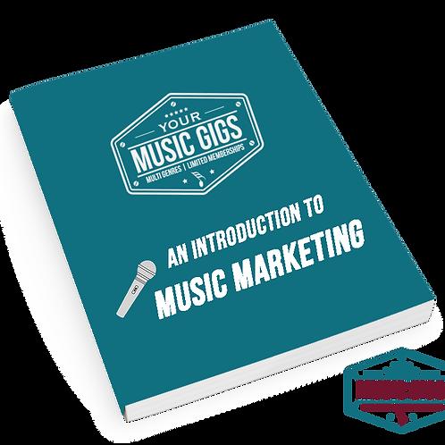 Intro to Music Marketing (eBook)