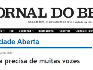 Lula no Jornal do Brasil