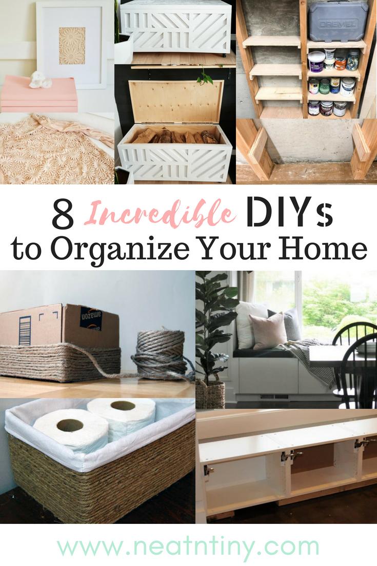home organization diys