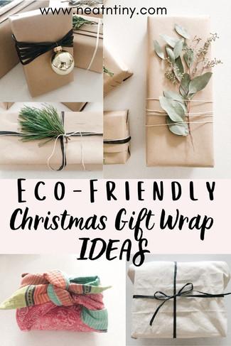 Eco-Friendly Christmas Gift Wrap Ideas