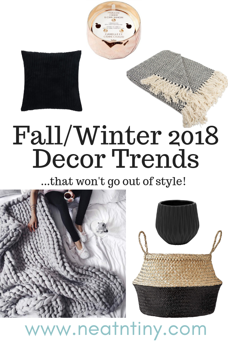 fall winter decor