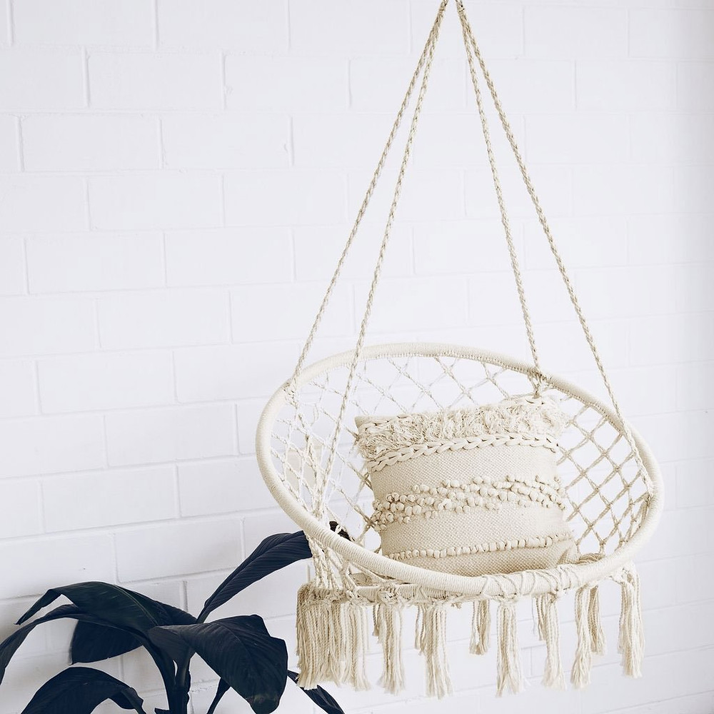 Sonyabecca hammock chair macrame swing