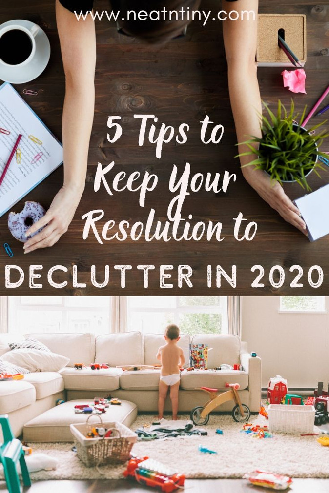 How to Get Clutter-Free In 2020