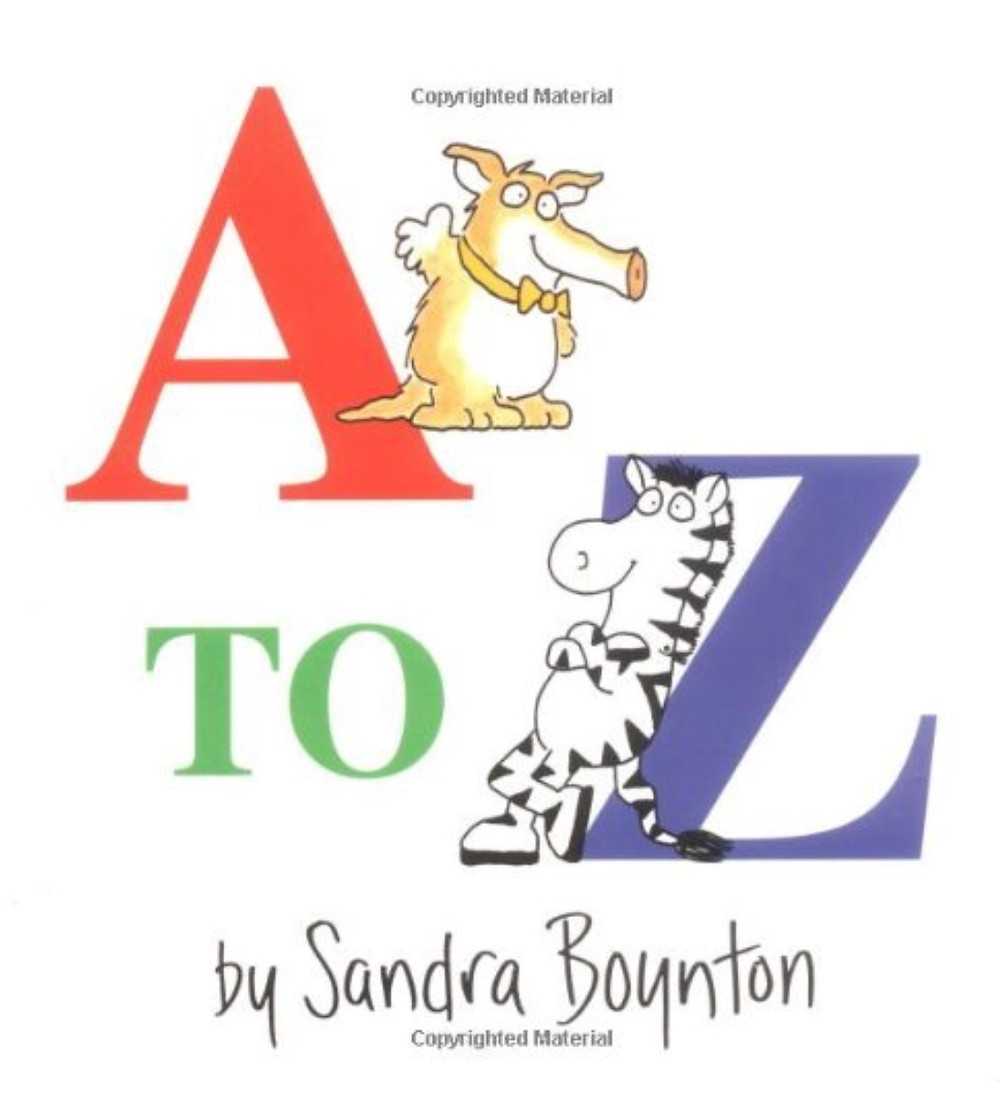 A to Z Book by Sandra Boynton