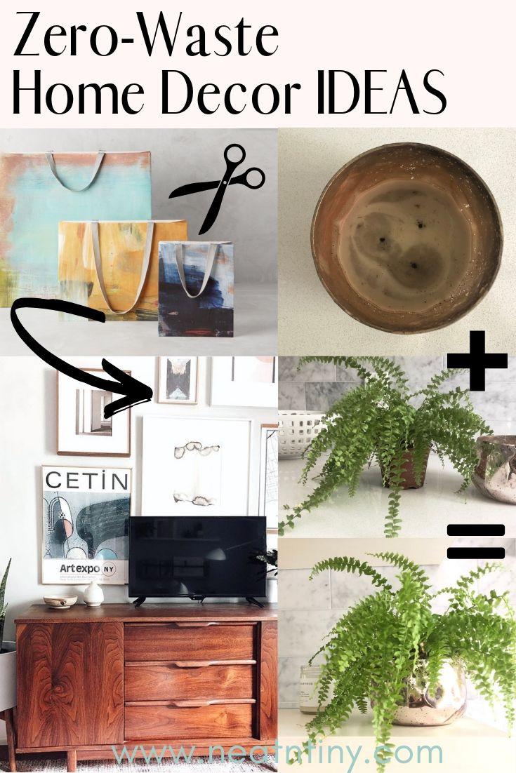 Zero-Waste Home Decor Ideas - Part II: Unconventional Decor on zero energy home, zero carbon home, health home, design home,