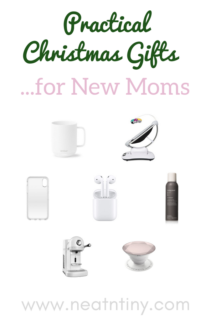 Practical Christmas Gift Ideas for New Moms