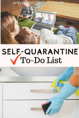 Self-Quarantine To-Do List