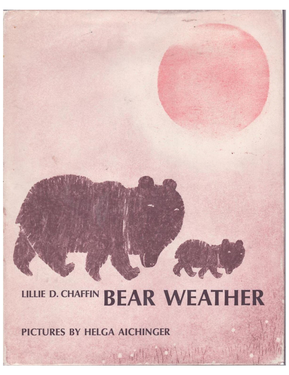 Bear Weather by Lillie Chaffin Book