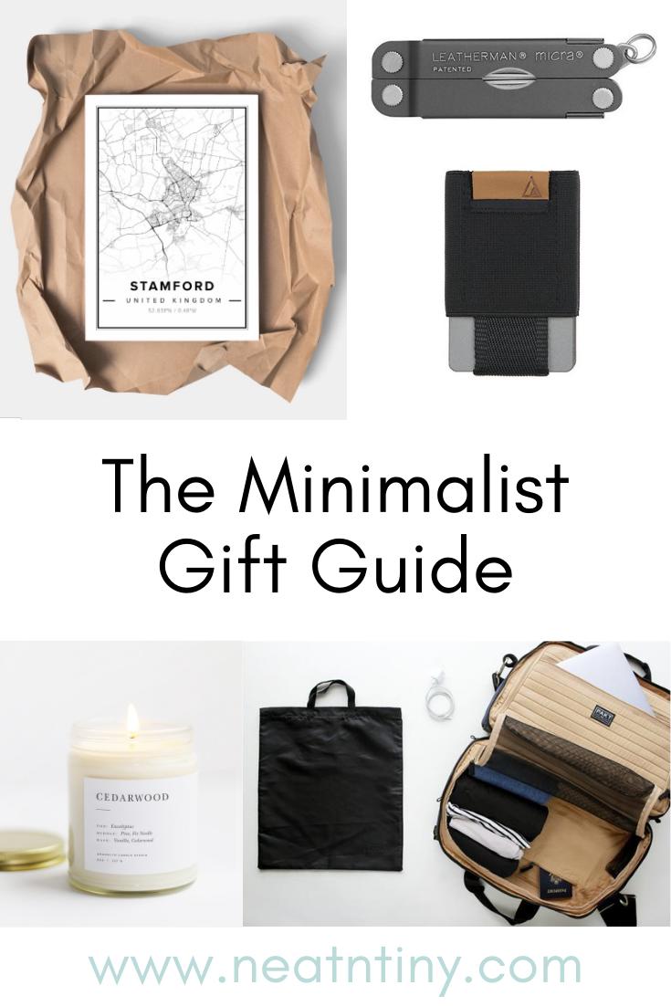 minimalist gift guid