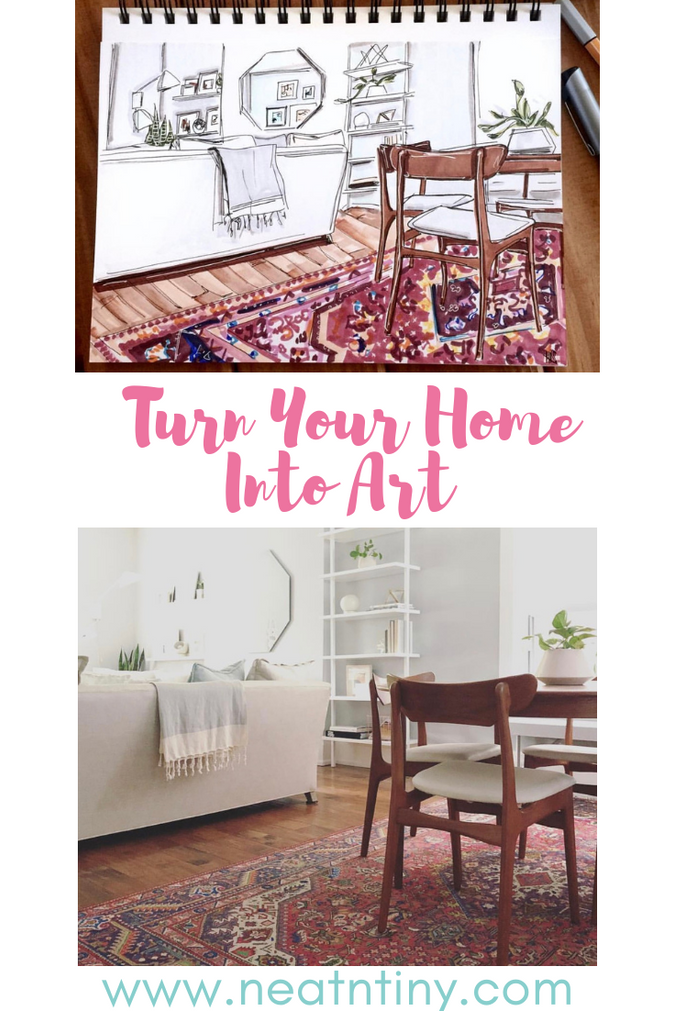 Home Illustration: Turn Your Home Into Art