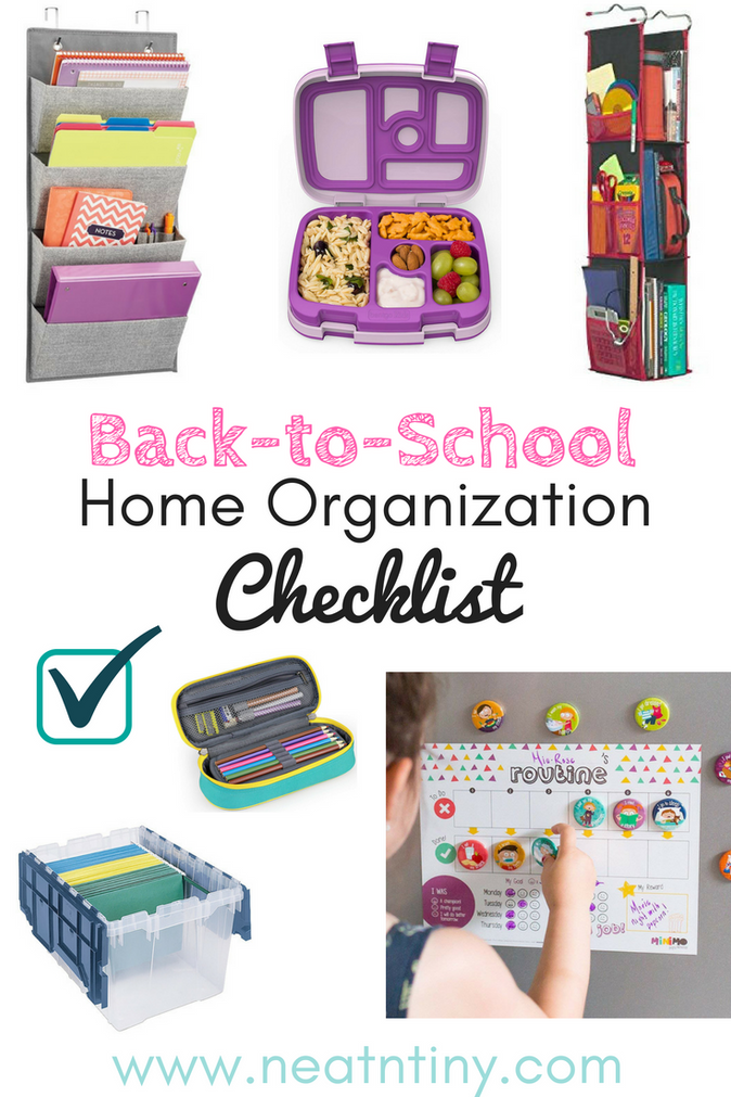 Back-to-School Must-Haves To Organize Your Kids & Home