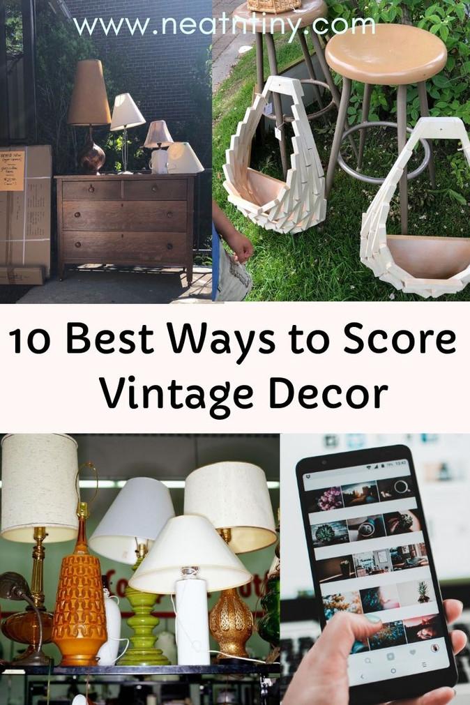 Zero-Waste Home Decor Ideas Part I: Vintage Decor
