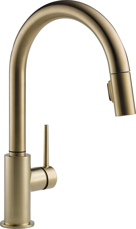 Delta gold faucet