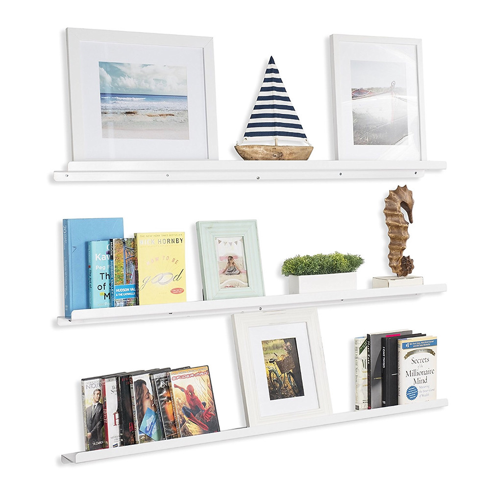 Wallniture Floating Shelves Metal Ledges