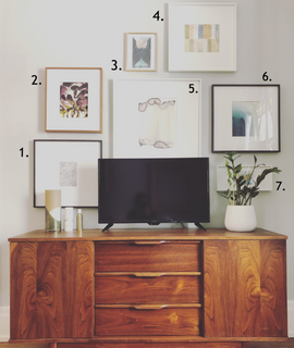 How To Build A Stylish Gallery Wall On A Budget