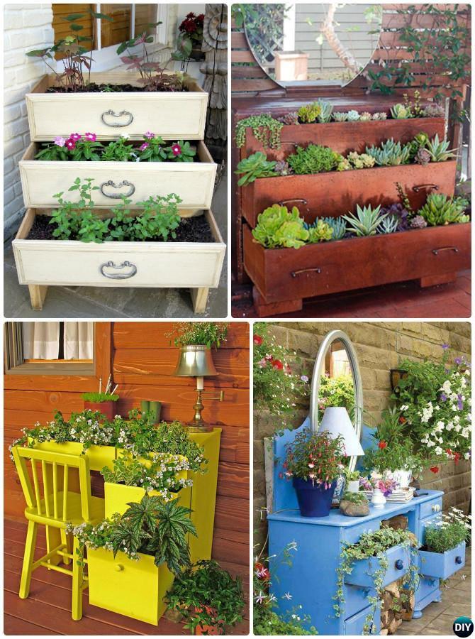 dresser garden diy