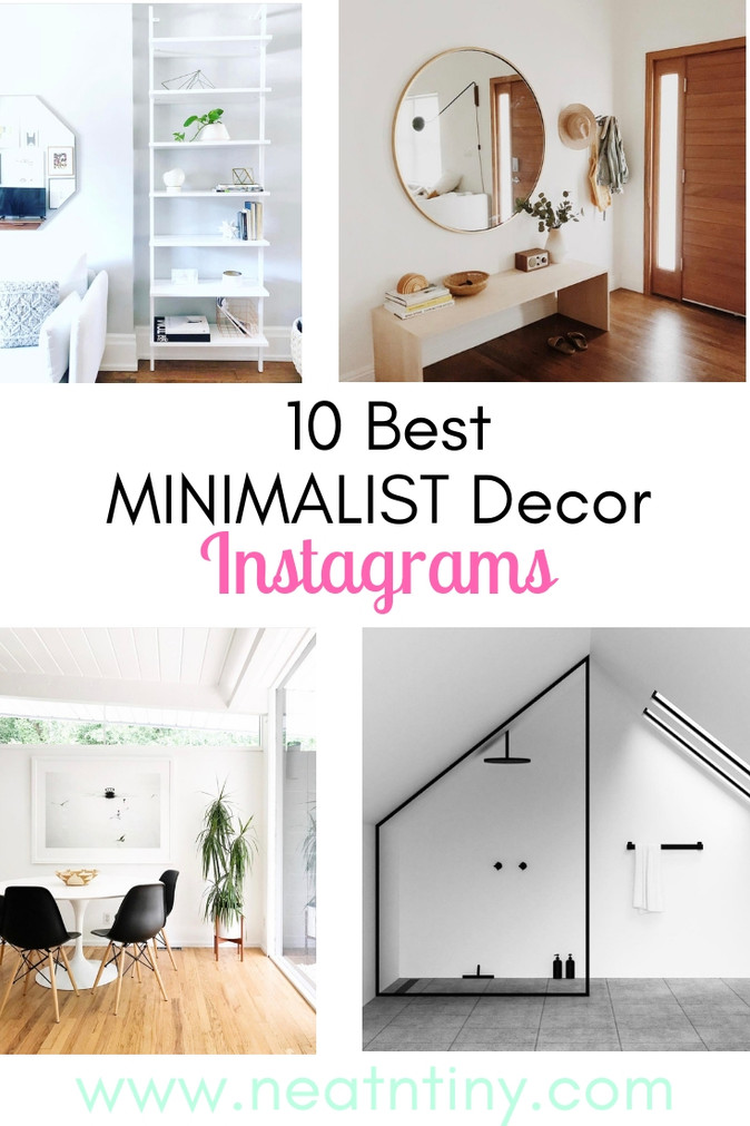 10 Best Minimalist Decor Instagrams