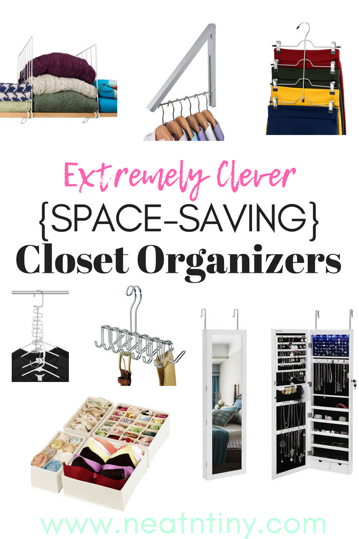 closet organizers for small spaces