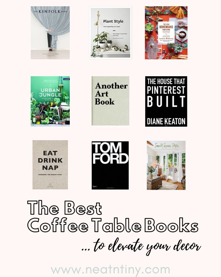 best coffee table books for decor