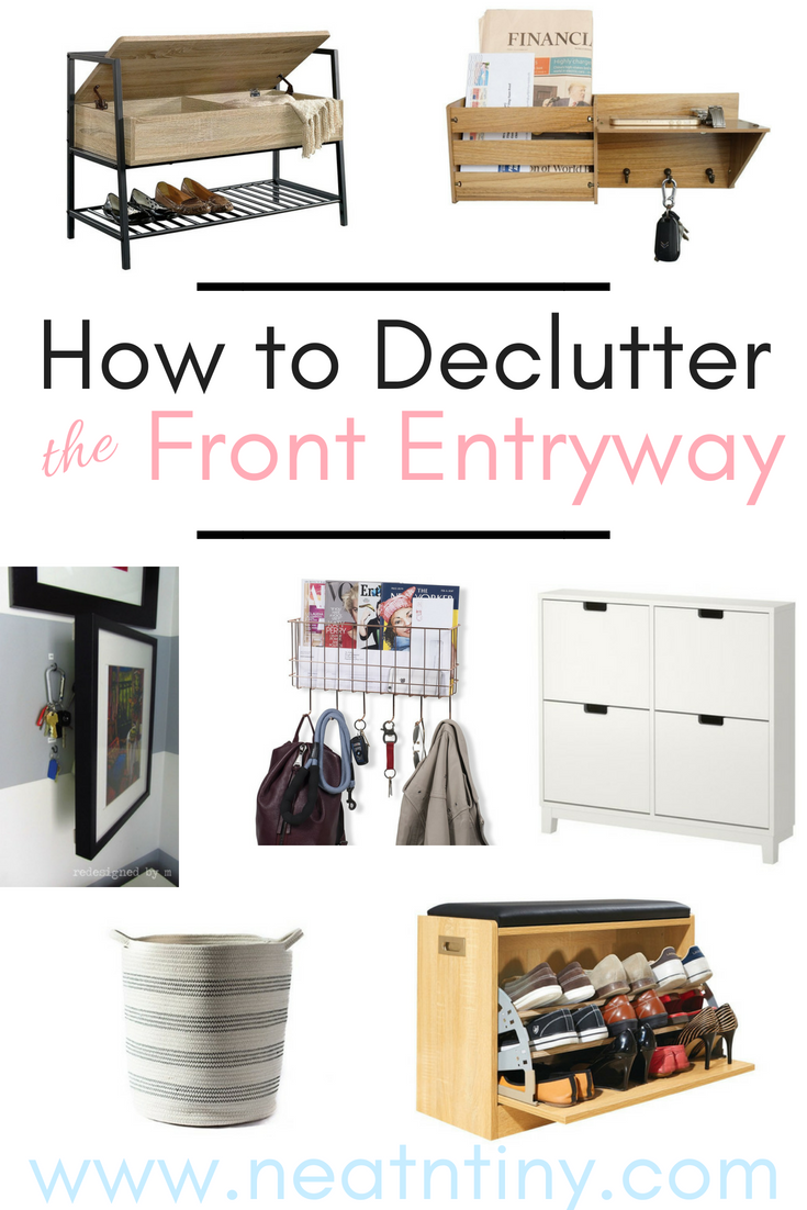 Front Entry Declutter