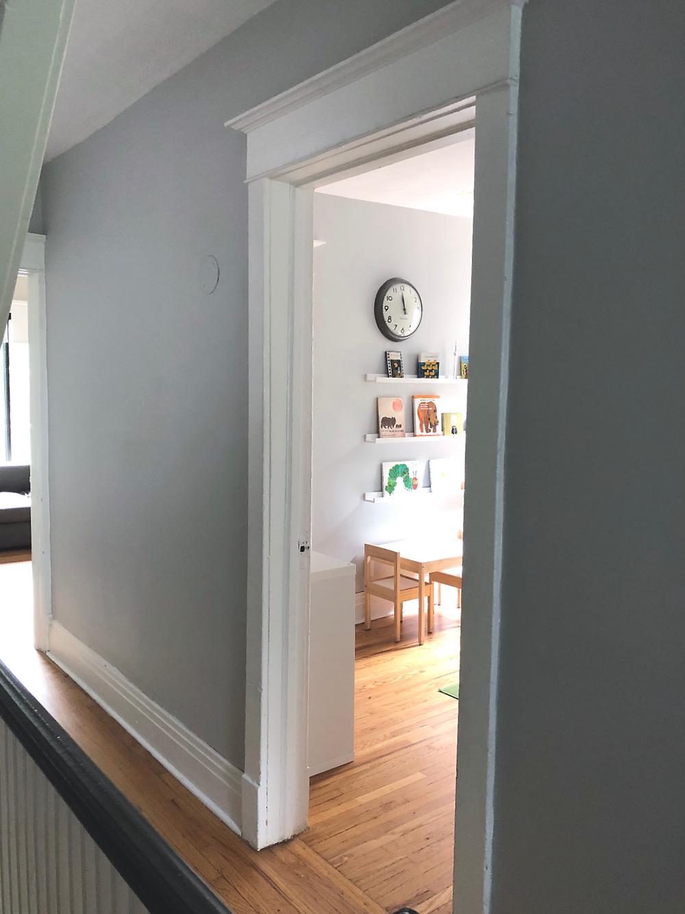 modern minimal kid's room