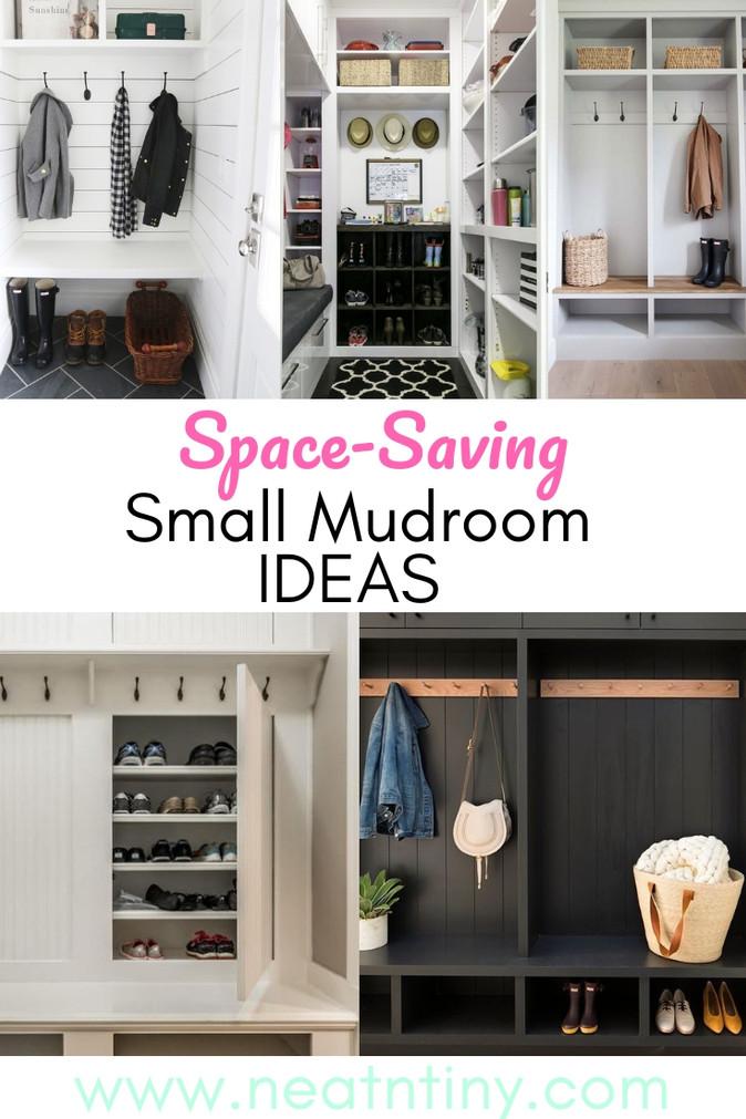Space-Saving Small Mudroom Design Ideas
