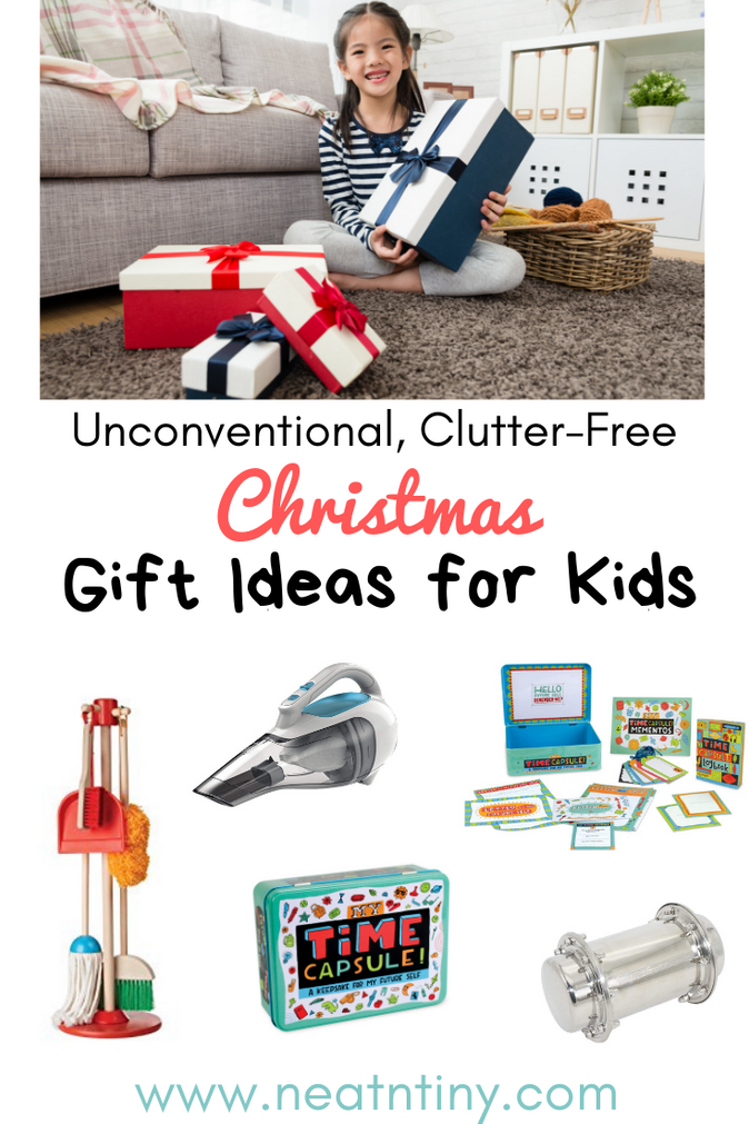Christmas Gift Ideas For Kids that Won't Clutter Up Your Home