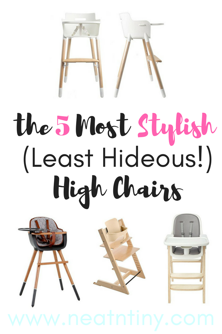 5 Best Most Stylish High Chairs In 2018