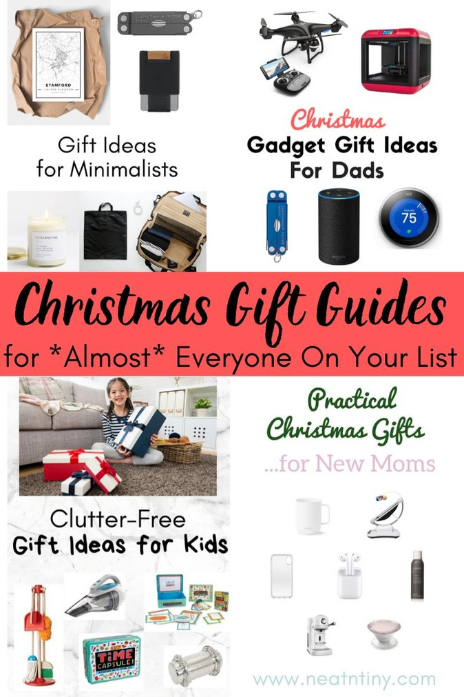 Christmas Gift Guides for *Almost* Everyone On Your List