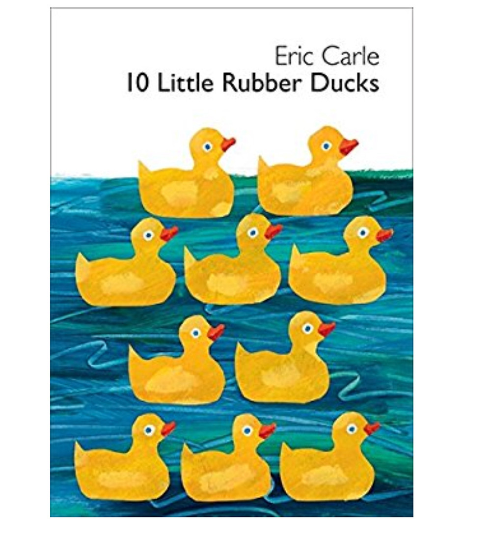 10 Little Ducks Book by Eric Carle