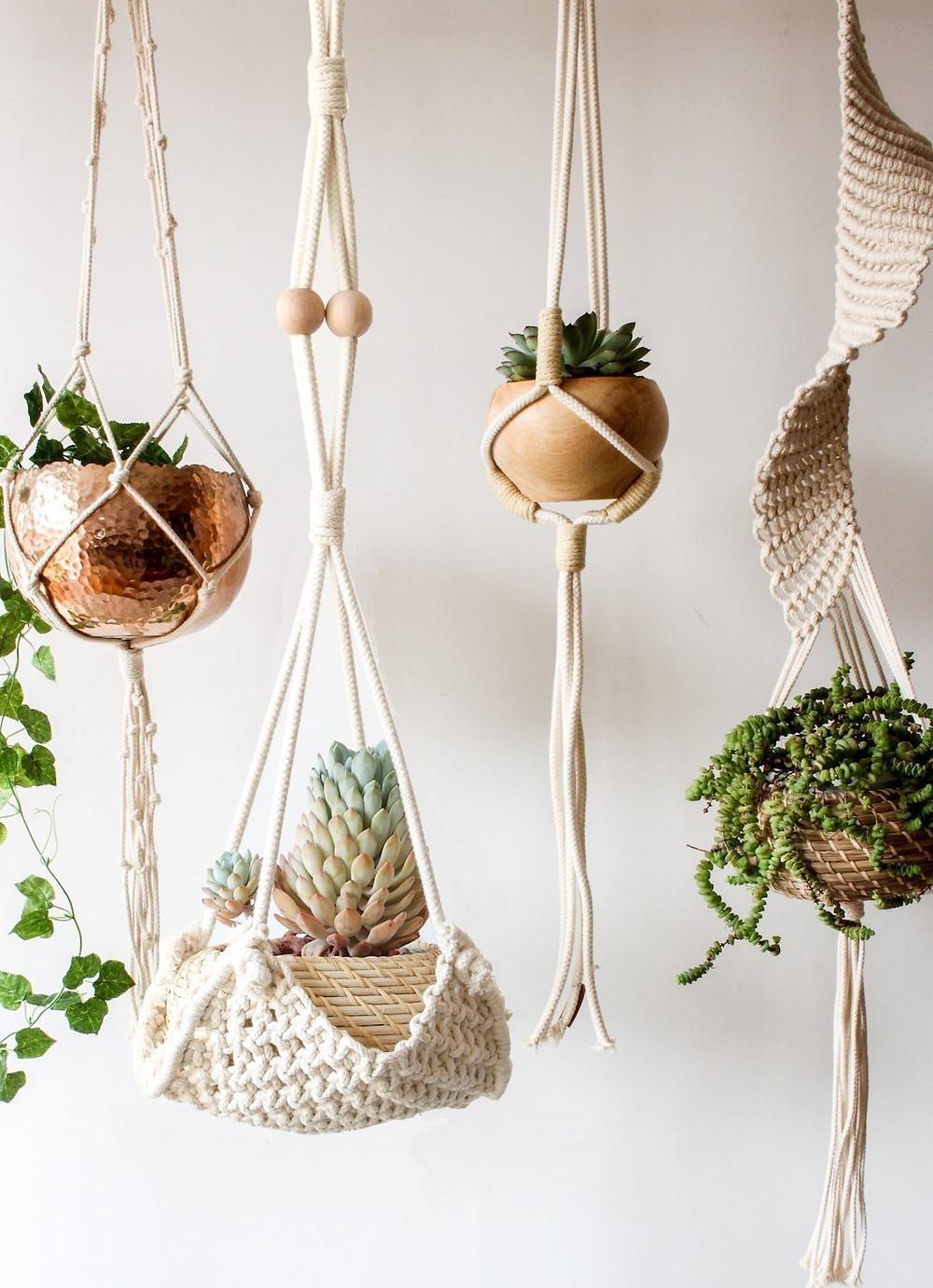 Flber Handmade Macrame Plant Hanger