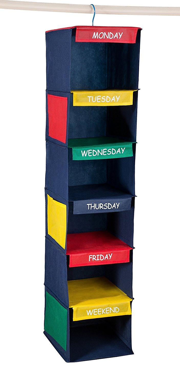 daily kids closet organizer