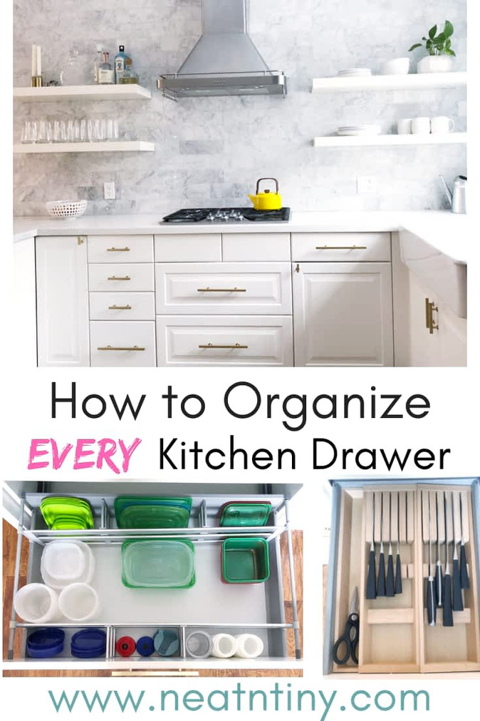 How to Organize Every Kitchen Drawer
