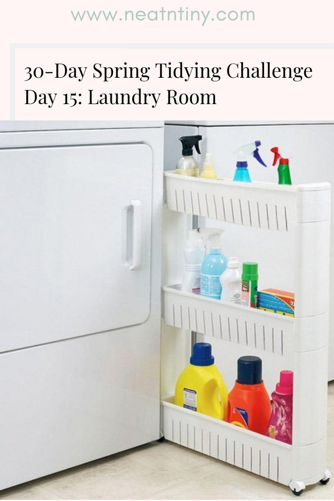 How to Declutter the Laundry Room