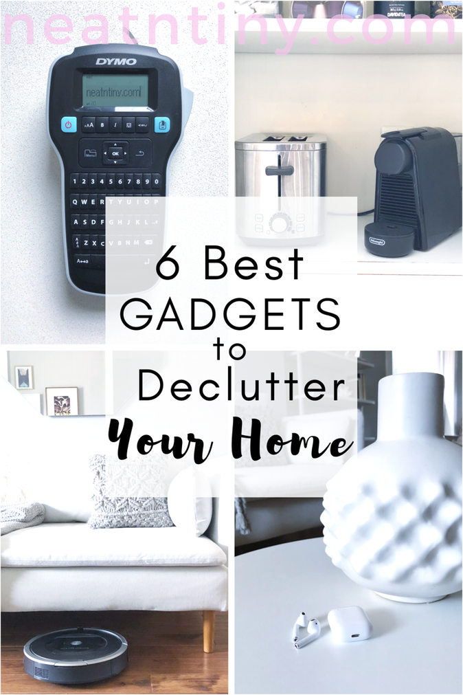6 Best Gadgets to Declutter Your Home