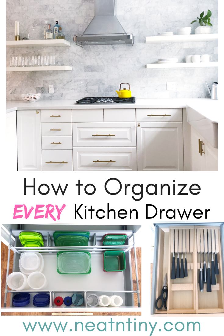 Kitchen Drawer Organization