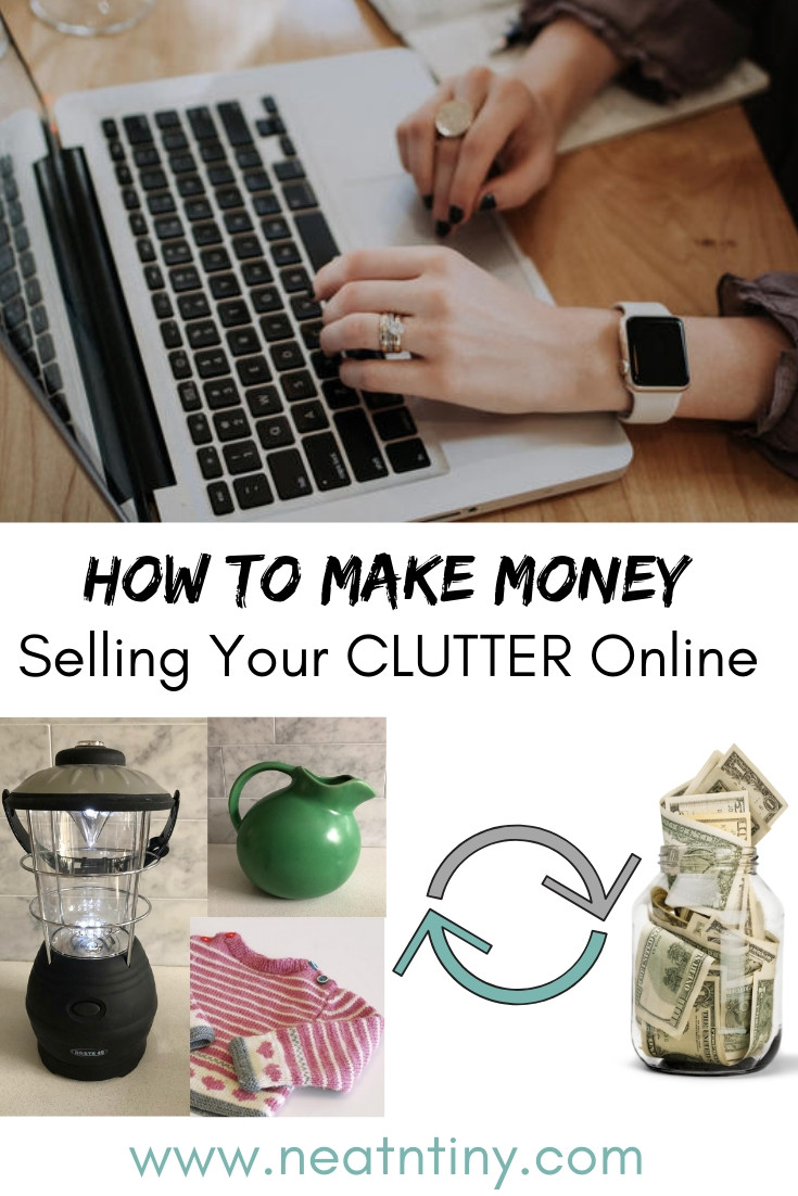 how to sell used stuff online